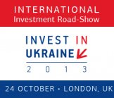 "II International Investment Road-Show ""Invest in Ukraine 2013"""