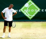 Playing Tennis at The Boodles