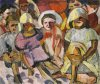 Sothebys Aristarkh Lentulov Children with Umbrellas 1912